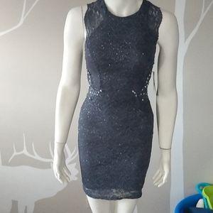 City studio party grey dress size 3